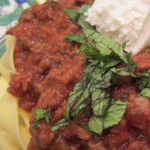 Lamb Ragù with Mint