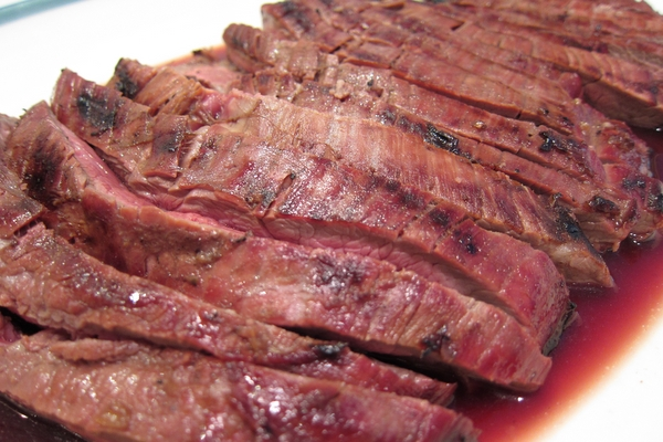 Grilled Flank Steak with Coffee Marinade — Riegl Palate