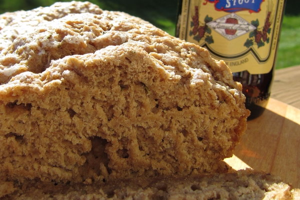 Whole Wheat-Rosemary Beer Bread