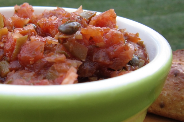 Fig and Fennel Caponata