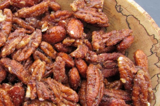 Alison's Sweet and Spicy Mixed Nuts