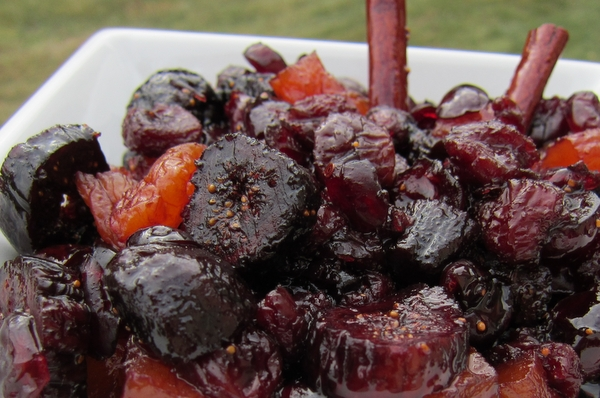 Dried Fruit and Port Compote