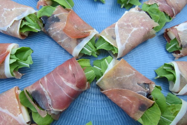 Prosciutto-Arugula-Provolone Packages