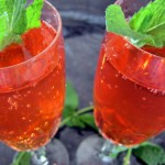 Strawberry-Mint Sparkler