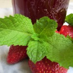 Strawberry-Mint Syrup
