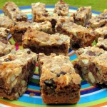 Gluten-Free Chocolate-Hazelnut-Cherry Magic Bars
