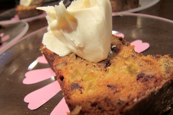 Tipsy Cake with Mascarpone Topping