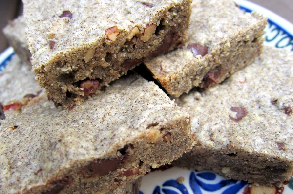 Buckwheat-Brown Butter Blondies