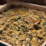 Buffalo-Bacon-Spinach-Artichoke Dip