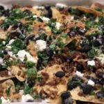 Chorizo and Black Bean Nachos