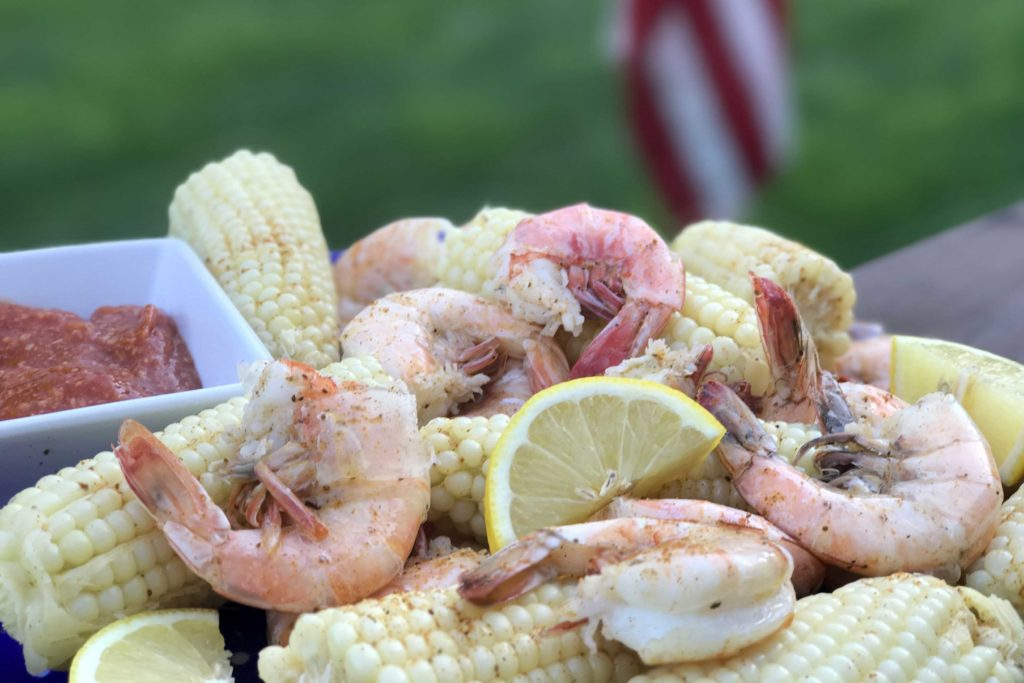Shrimp and Corn Boil