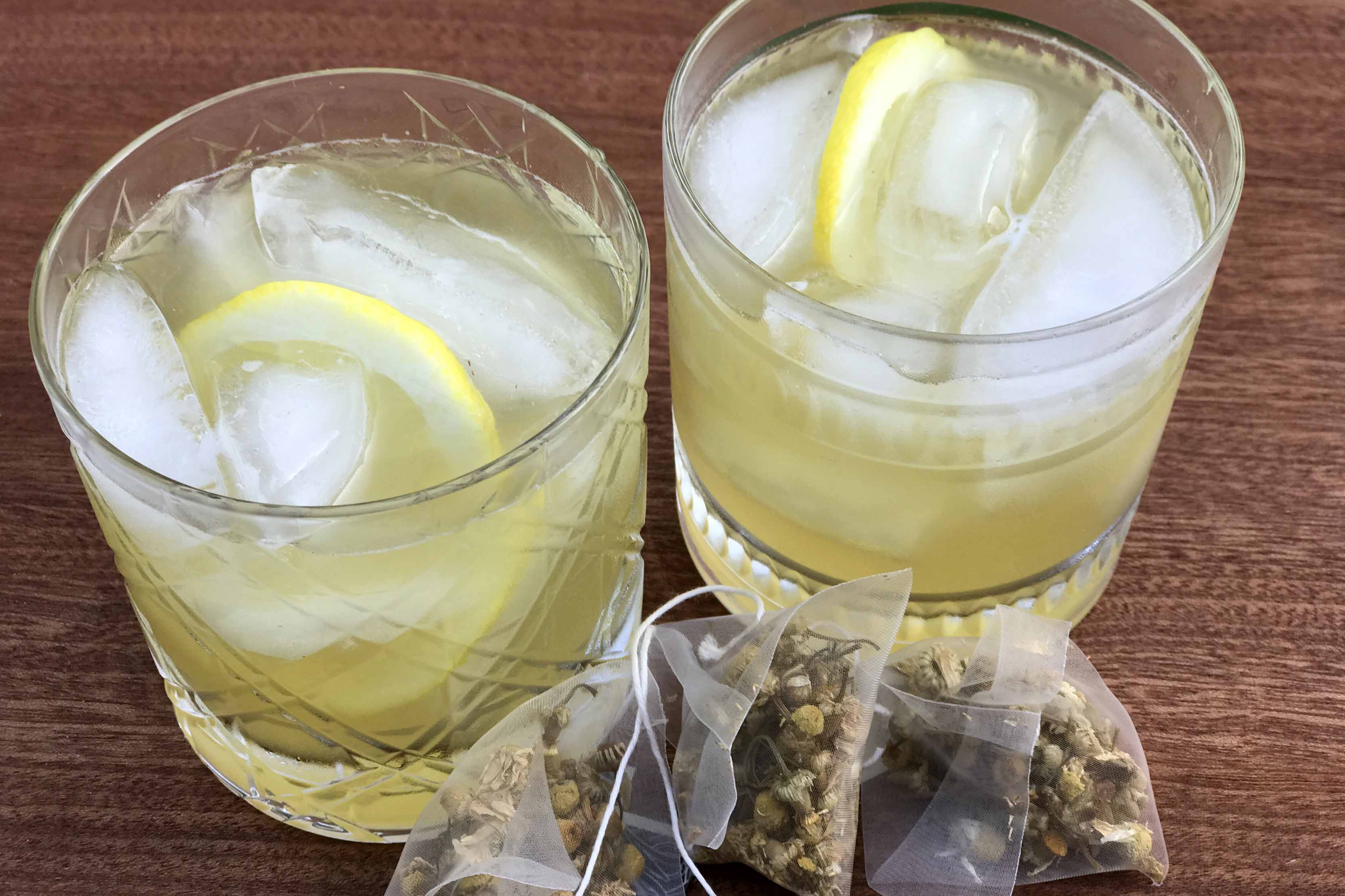 Chamomile Tea Vodka Cocktail
