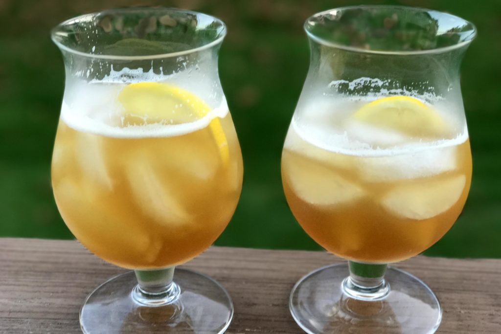 Fall Bourbon Shandy